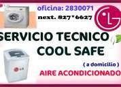 Lavadoras lg – reparacion rapida – cool safe