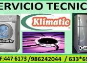 servicio tecnico klimatic refrigeradora lavadora 6750837