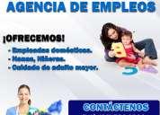 Agencia niñeras, agencia de empleos en lima