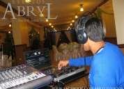 Alquiler de dj y sonido para fiestas y eventos sociales