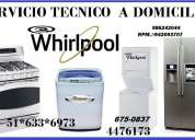 Servicio tecnico whirlpool de lavadoras tlef:4476173