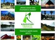Viaja por toda el perú con kawsayniki travel