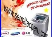 Técnicos expertos autorizados en mantenimiento de lavadoras .. llame ya :) /7992752-jesus maria