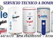Reparacion de termas a gas en lima//servicio tecnico//
