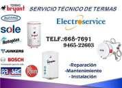Servicio tecnico de termas bryant 6687691 lima | surco ..reparacion