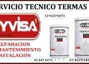 Servicio tecnico yvisa termas {{{reparacion a gas electrica termas }}}