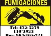 Fumigaciones efectivas para eliminar insectos 792-4646 entel: 98-110-5923