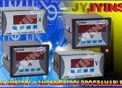 AmperÍmetros y voltÍmetros (amperÍmetros y voltÍmetros programables y digitales)