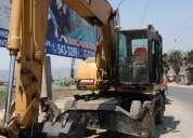 Alquiler de retroexcavadora y excavadora con martillo 981379192