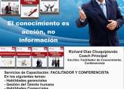 Consultor - coach capacitador- conferencista