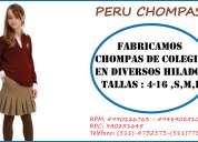 Peru chompas indumentaria