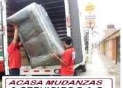 Acasa mudanzas y depositos de muebles - telefonos: 2541542/997563635/994120466