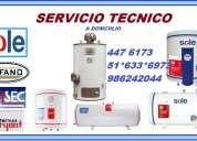 servicio tecnico de termas a gas en lima