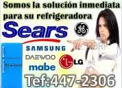 [side by side] 447-2306* servicio tecnico de refrigeradoras general electric