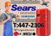 Reparaciones 2424766¡¡ servicio tecnico de refrigeradoras daewoo- indurama
