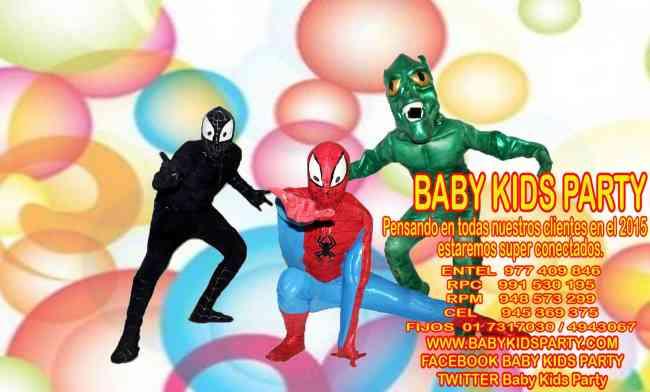 show infantil en la moina ,santa anita y ate vitarte .BABY KIDS PARTY