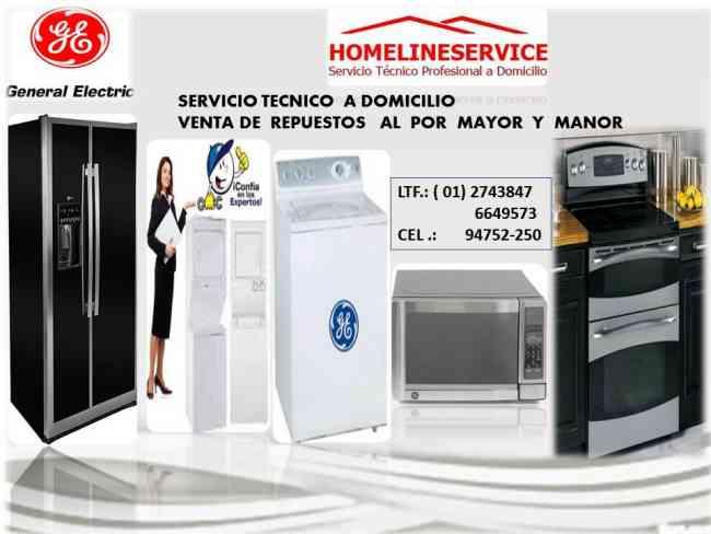 COCINAS GENERAL ELECTRIC # 2743847 SERVICIO TECNICO EN LIMA *