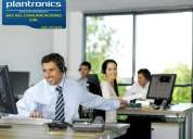 Headset - handsfree - plantronics - auricular tipo vincha - bac bel comunicaciones eirl