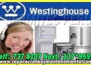 ((miraflores)) profesionales en servicio tecnico lavadoras westinghouse 7378107