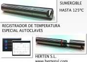 Registrador de alta temperatura especial autoclaves - hasta 125ºc -