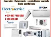 Brindamos servicios de mantenimiento y reparacion de aire acondicionado lg/ york 2748107