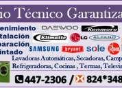 Empresa daewoo [[ servicio tecnico de refrigeradoras- congeladoras* lavadoras ]]