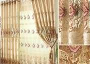 Venta y lavado de cortinas, alfombras, muebles en san borja telf. 241-3458