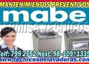 Jesus maria (( 2761763)) soluciones mabe reparacion de lavadoras -secadoras mabe//