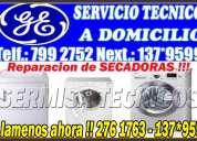 """Miraflores / 2761763/ especialistas """"general electric"""" reparacion lavadoras"""