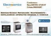 Lima/  ♠servicio tecnico a domiclio  de cocinas indurama ♠6687691