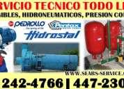 Servicios pedrollo pentax [ servicio tecnico de bombas de agua] 447-2306