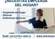 Agencia de empleos en lima, empleada de hogar cama adentro en lima, niñeras en lima