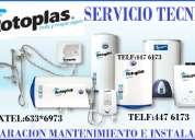 servicio tecnico terma rotoplas en lima 942093707  /  4476173