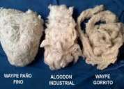 Trapo industrial y waype  proveedor