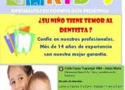 Odontopediatra para niÑos con temor