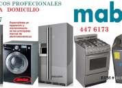 Servicio tecnico mabe lavadora cocinas
