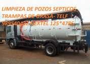 Saneamiento ambiental  ventas y servicios: 725-9443   539-7211 rpc: 983284581   983284583