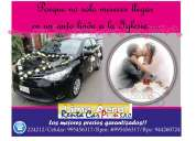 Alquiler de autos para matrimonios quinceñeros