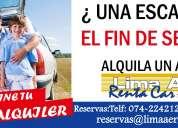 Alquiler minivan chiclayo
