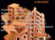 Arquitectos: planos, proyectos, saneamiento, construcciones 2741595