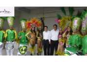 Batucada show brasilero percusion garotas garotos samba brasil
