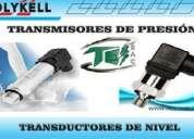 Transductores y transmisores (sensores de presion)