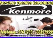 Especialistas kenmore  2761763 reparacion de secadoras kenmore - san borja