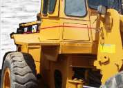 Cargador frontal caterpillar 938f del 2000