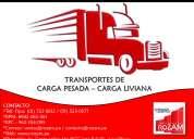 transporte de carga - rozam