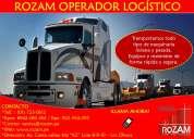 Empresa de transporte de carga a nivel nacional - rozam