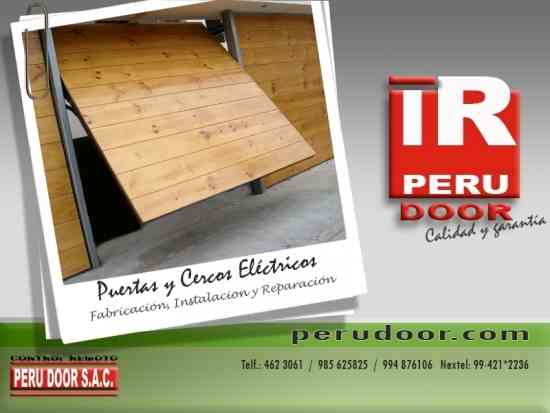 Control remoto para puertas levadizas seccionales de garaje PERU DOOR