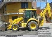 Alquiler de retroexcavadora con martillo rpc: 991-452-580