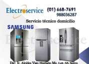 Mantenimiento y solucion  de averias (refrigeradores samsung)