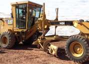 Motoniveladora caterpillar cat 140h año 2007